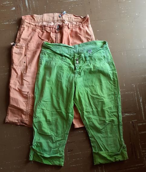 Pantalon Capri Jean Para Dama