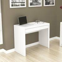 Escrivaninha Para Escritório Com 1 Gaveta - Branco