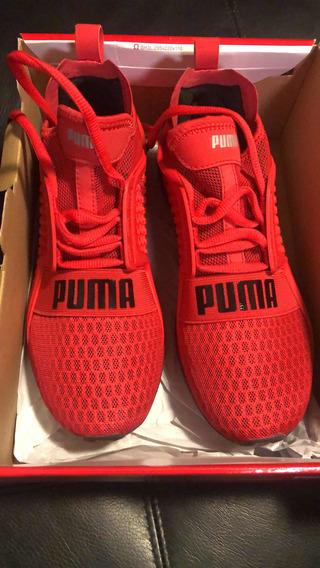 Tênis Puma Ignite Limitless Vermelho N. 36