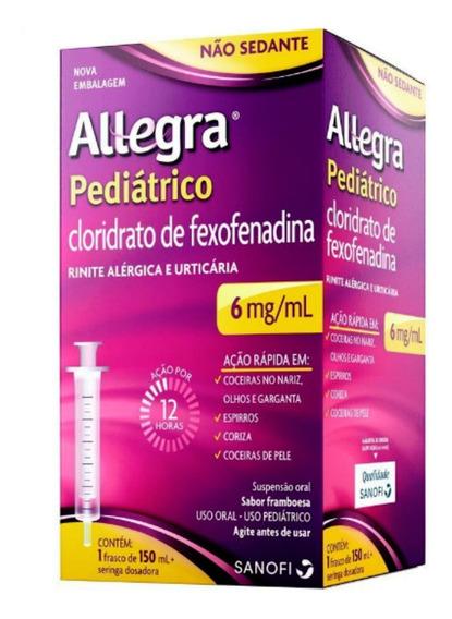 Allegra Pediatrico Rinite Alérgica Suspensão Oral 150ml