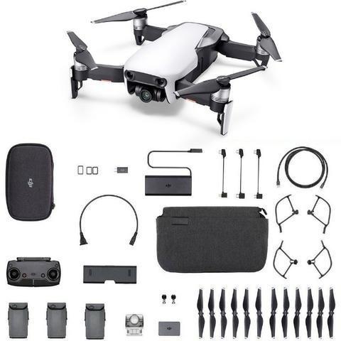 Drone Dji Mavic Air Combo Com Aula De Vôo E Ativação Grátis