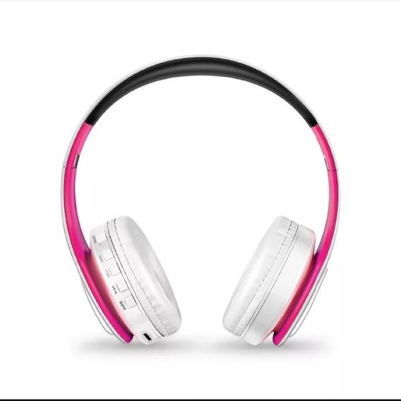 Fone De Ouvido Estéreo Bluetooth Headset Com Nota Fiscal