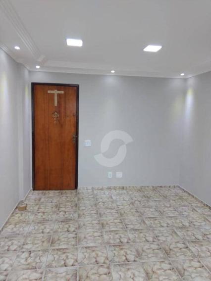 Apartamento Reformado De 2 Quartos , Nova Cidade, São Gonçalo. - Ap6385