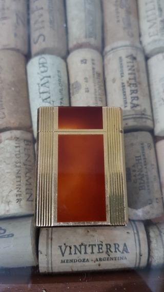 Encendedor Dupont Original , Laca China Y Oro.