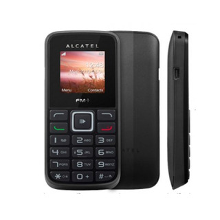 Celular Alcatel 1011 Preto Dual Chip Nacional Preto | Novo