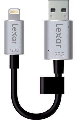 3306 Lexar Jumpdrive 128gb C20i iPhone Usb 3.0 Ljdc20i-128bb