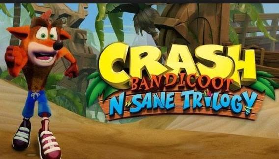Crash Bandiccot 3x Jogos Em 1! Nintendo Switch