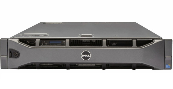 Servidor Dell Poweredge R710 32gb Quad Core Hds 500gb