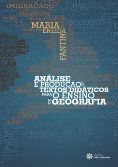 Analise E Producao De Textos Didaticos Para O Ensino De Ge
