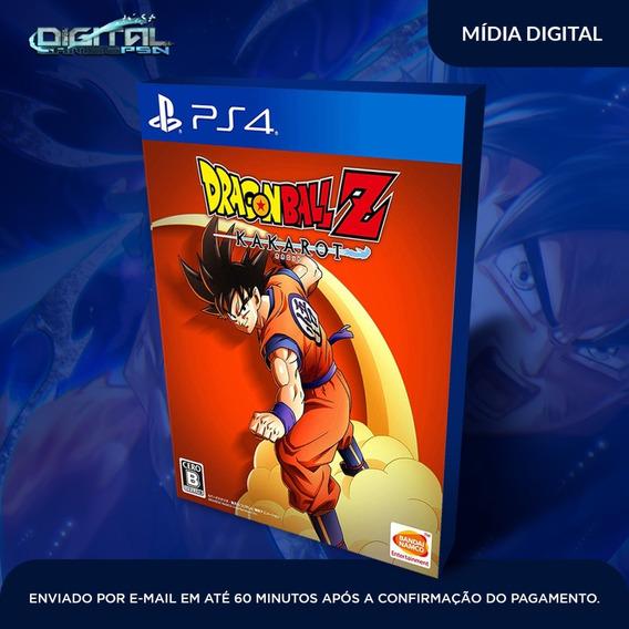 Dragon Ball Z Kakarot Ps4 Leg Pt Envio Digital Imediato Psn