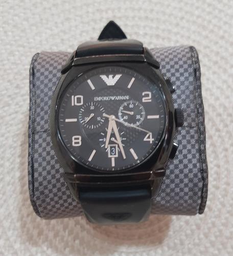 Relógio Empório Armani Preto Ar-0349