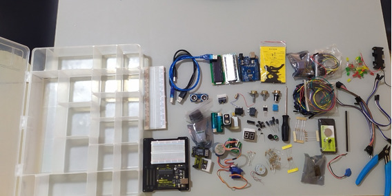 Kit De Arduino Completo + Livro Arduino (iniciante+avançado)