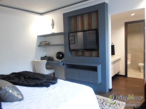 Venta De Apartamento En La Zona 14 De Lujo - Pva-004-03-17-42