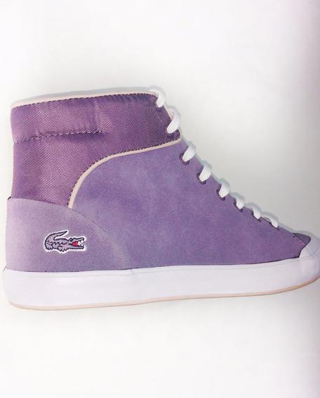 Zapatillas Botitas Mujer Lancelle Hi Top 416 2 Gris