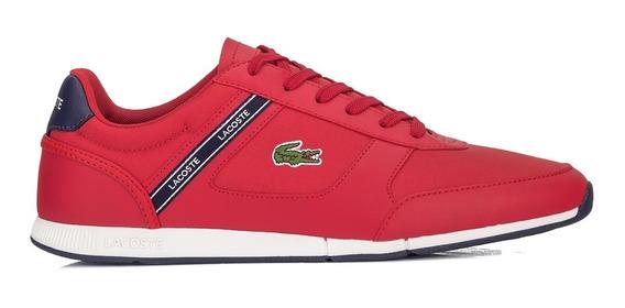 Tênis Lacoste Menerva Sport 119 2 Cma Vermelho