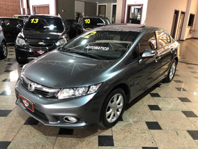 Honda Civic 1.8 Exs 16v Flex 4p Automático 2012/2012