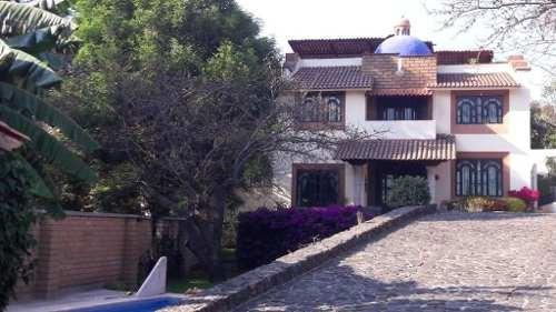 Hermosa Casa Con Alberca En El Pueblo Mágico De Malinalco