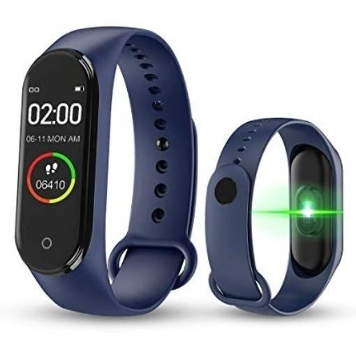 Coolmex Reloj Smartband M4 Medidor Ritmo Cardiaco, Pedometro