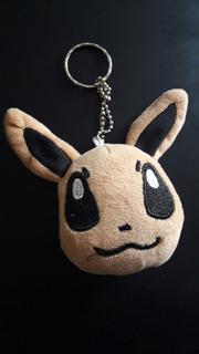 Pokemon Eevee Llavero Peluche Original