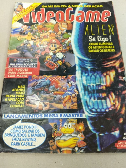 Revista Vídeo Game Outubro 1992