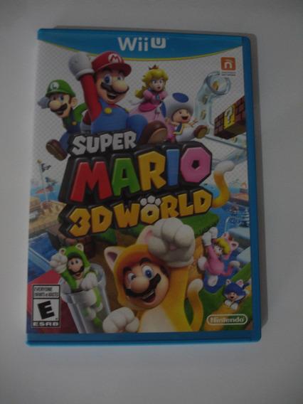 Super Mario 3d World Wii U Usado Em Ótimo Estado !!!