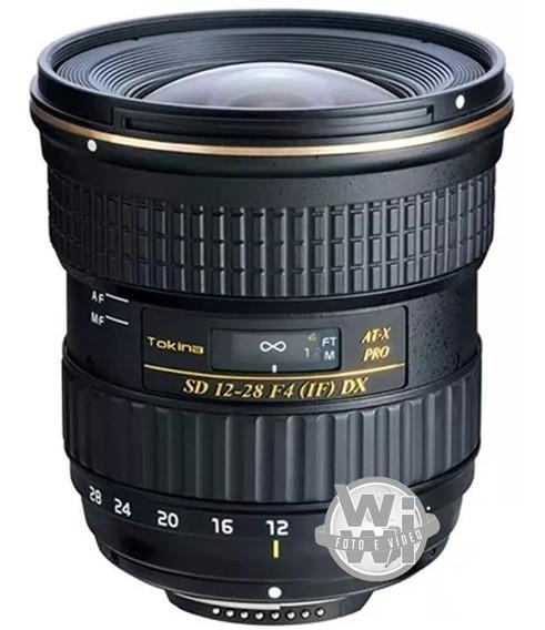 Objetiva Tokina Af 12-28mm F: 4.0 At-x Pro Dx (canon)