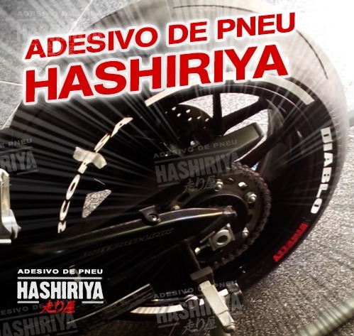 Adesivo De Pneu Moto-kit Pirelli Diablo Supercorsa+faixa -sj