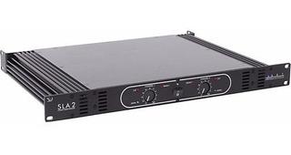 Amplificador Potencia Sla-2 Art 280w Por Canal 4ohms