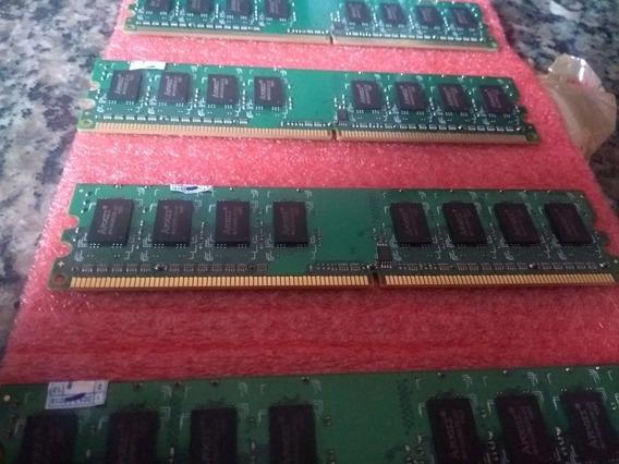 Memória Ram Ddr2 4gb (4 Pentes De 1gb)