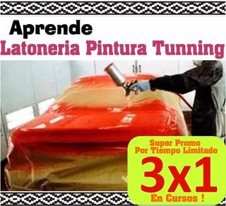 Aprende Tunning Pintura Latoneria Audio Automotriz Promo 3x1