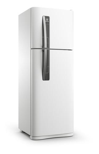 Heladera no frost Electrolux DFN3500  blanca con freezer 303L 220V