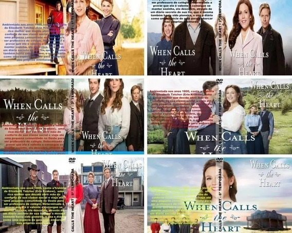Serie - When Calls The Heart 6 Temporadas + Filmes + Brinde