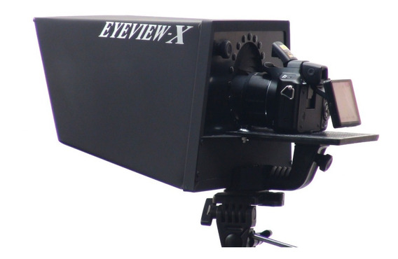 Teleprompter Eyeview-x Com Pedal Controle Remoto