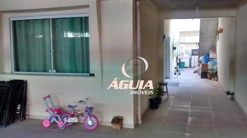 Sobrado Com 3 Dormitórios À Venda, 120 M² Por R$ 550.000,00 - Vila Homero Thon - Santo André/sp - So0102