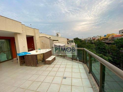 Imagem 1 de 24 de Cobertura Com 1 Quarto À Venda, 150 M² Por R$ 2.200.000 - Barra Da Tijuca - Rio De Janeiro/rj - Co0156