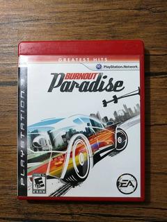 Burnout Paradise Playstation 3 Ps3 Excelente Estado !!