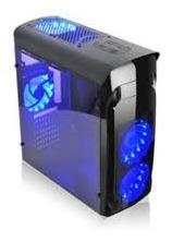Case Agiler Gaming Atx Negro Con Panel Transparente Lateral,
