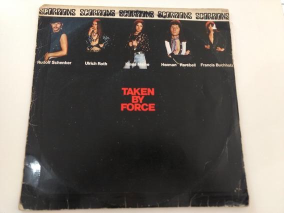Scorpions Taken By Force Lp Nacional