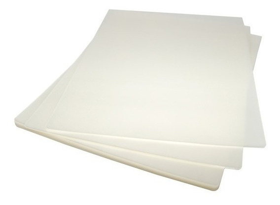 100 Laminas De Plastificar 175 Micrones 70x100 Mm Gruesas