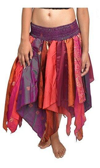 Wevez De La Mujer Tribal Hojas Estilo Falda Pack De 3 Talla