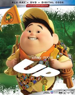 Blu-ray + Dvd Up Una Aventura De Altura (2009) Disney Pixar