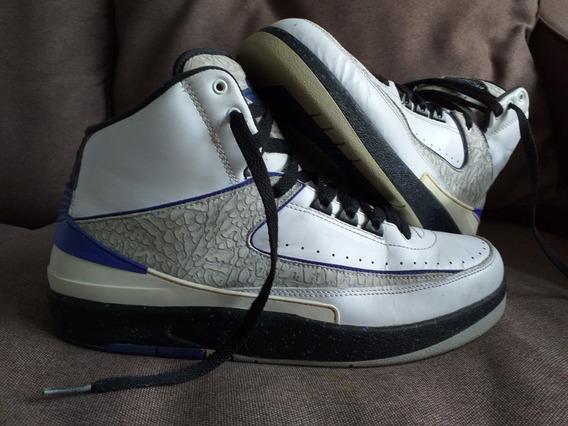 Tenis Jordan Retro 2 Ii Concord 28mx/10us