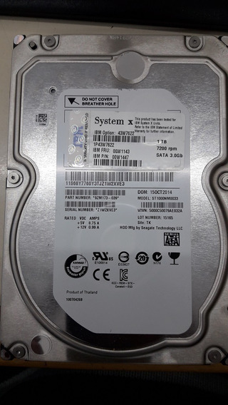 Hdd 1 Tb Sata 3.0gb 7200rpm