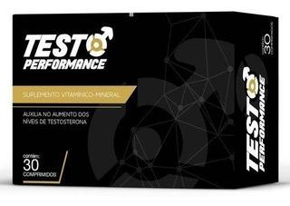 Testo Performance Suplemento Vitamínico Com 30 Comprimidos