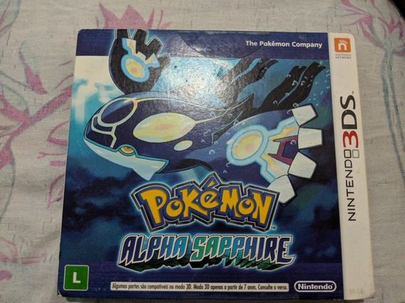 Jogo Pokémon Alpha Sapphire