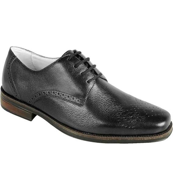 Sapato Social Masculino Oxford Sandro Moscoloni Kevin Preto
