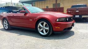 Ford Mustang Gt Premium Convertible 2011