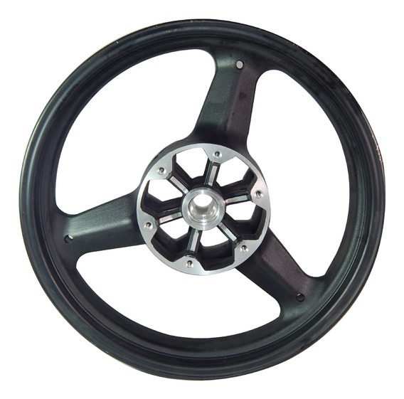 Roda Dianteira Preta Kasinski Mirage 650 Original