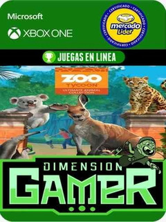 Zoo Tycoon Ultimate Edition Xbox One Modo Local + En Linea