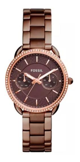 Relógio Fossil - Marrom - Es4258/4mn